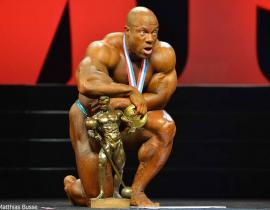 Фил Хит - Мистер Олимпия 2015