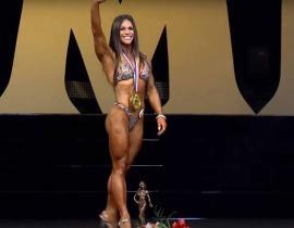 Оксана Гришина победительница Fitness Olympia 2015