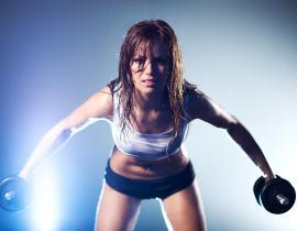 Спортивное питание для роста мышц для девушек: особенности применения
