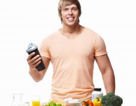 Спортивное питание для набора мышечной массы начинающим