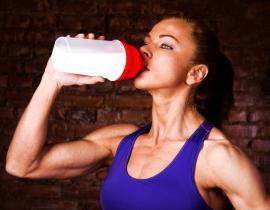 Эффективное спортивное питание для набора мышечной массы