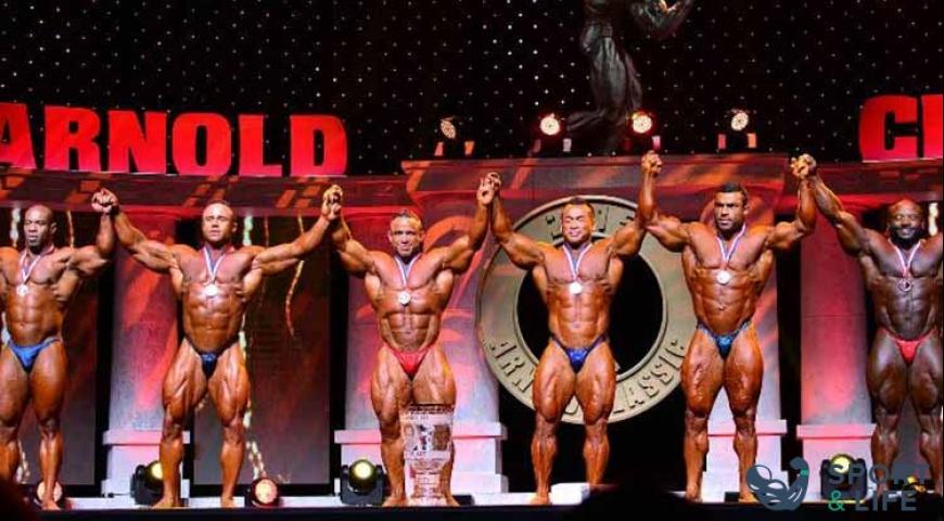 Результаты ARNOLD CLASSIC 2015 Men's Bodybuilding 212