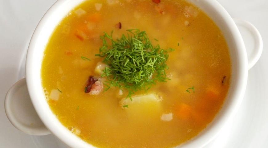 Готовить гороховый суп рецепт фото