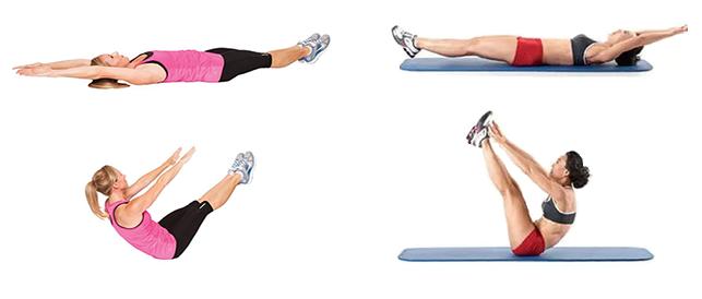 Вредные упражнения для здоровья во время качания пресса