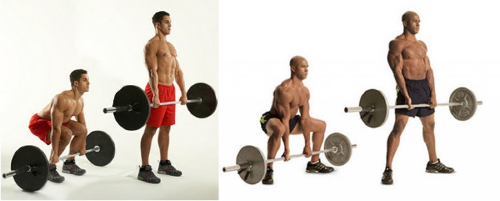 Отличия классической тяги от становой тяги сумо
